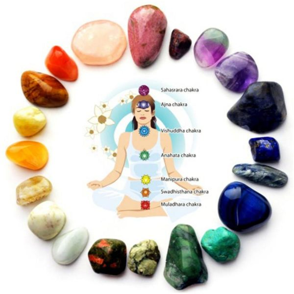 Natural 7 Colors Chakra Healing Crystals 1